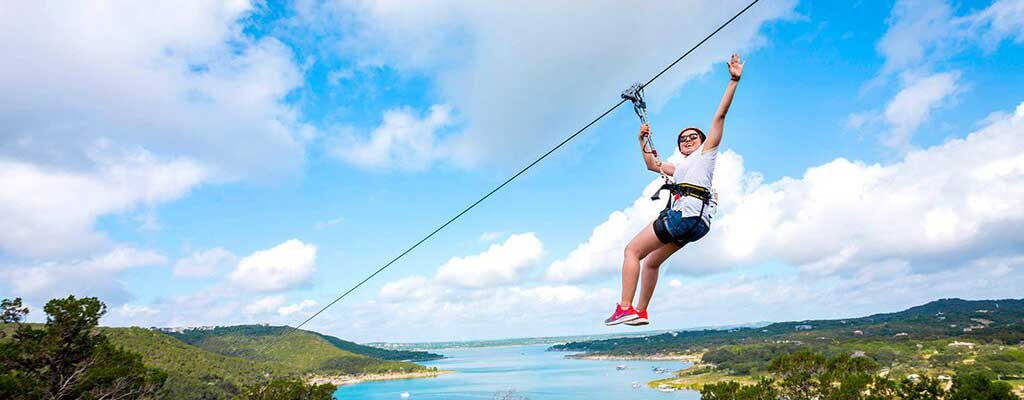 Lake Travis Zipline Adventure The Longest u0026 Fastest Zipline in Texas : canopy zipline austin - memphite.com