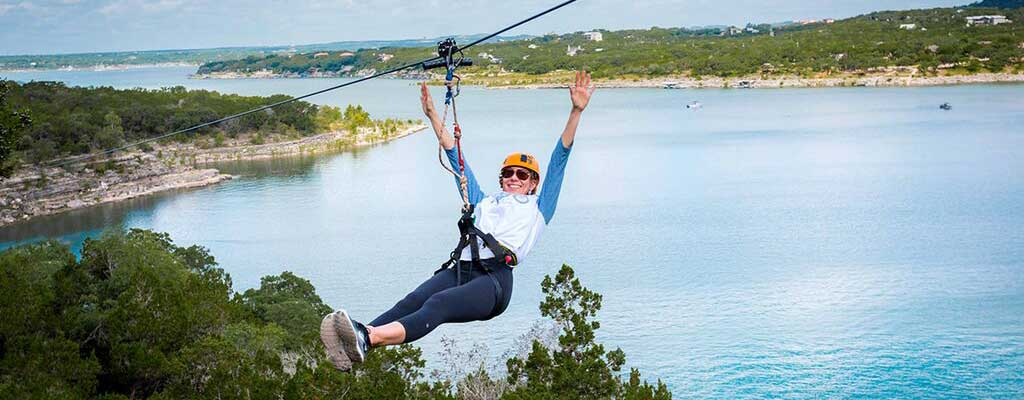 Lake Travis Zipline
